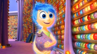 Pixar Post Inside Out Joy w Candy Bag