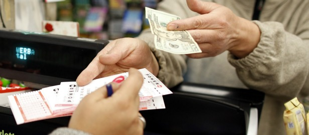 615 lottery decision hands money exchange